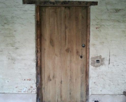 Interieurmaatwerk rustieke binnendeur